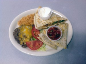 Steak or Chicken Quesadilla
