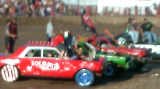 Jody's was a proud sponsor of the Evanston Demo Derby that will show on the Velocity Channel's